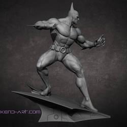 Bruce Wayne Batman Beyond Side by kdoyle9