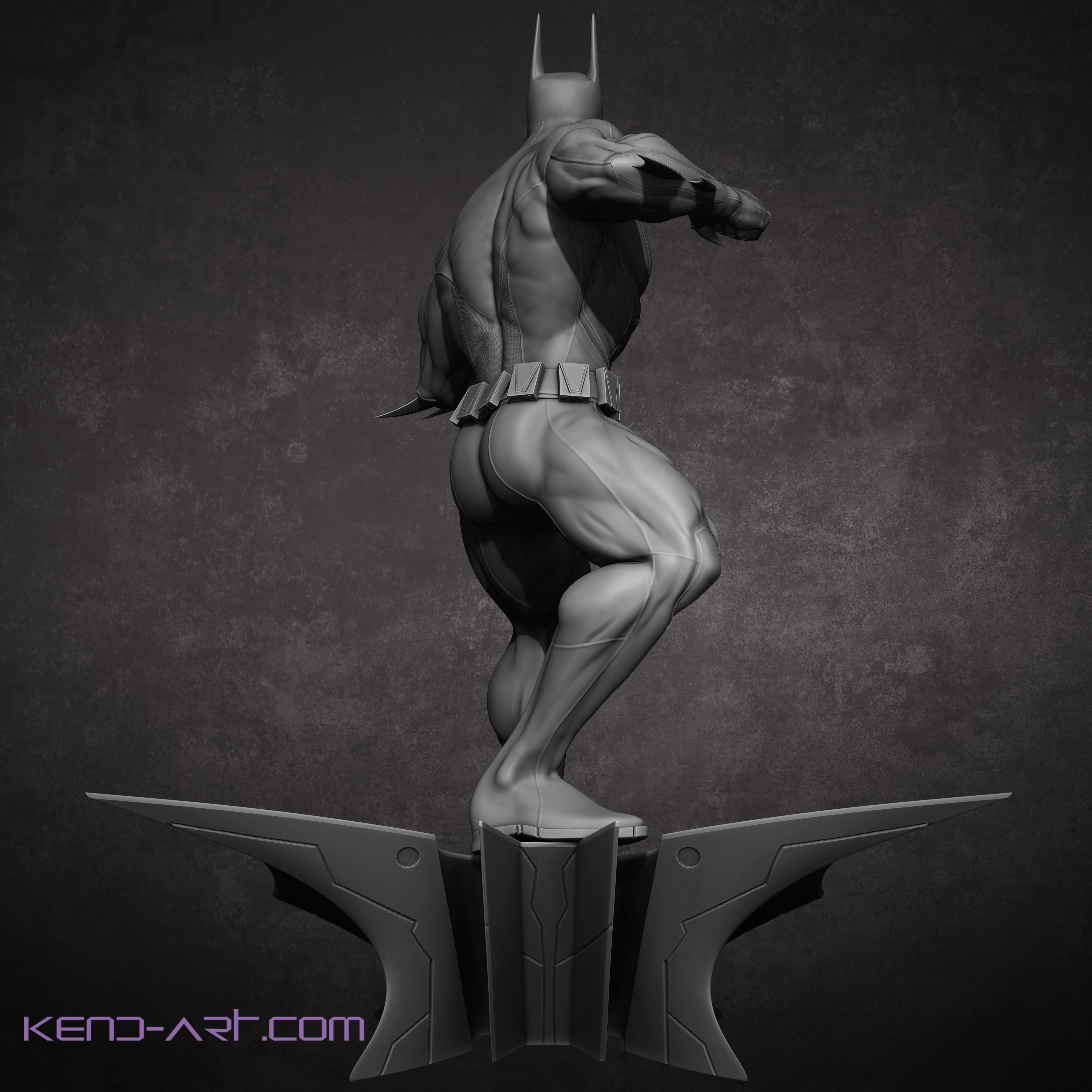 Bruce Wayne Batman Beyond Back by kdoyle9