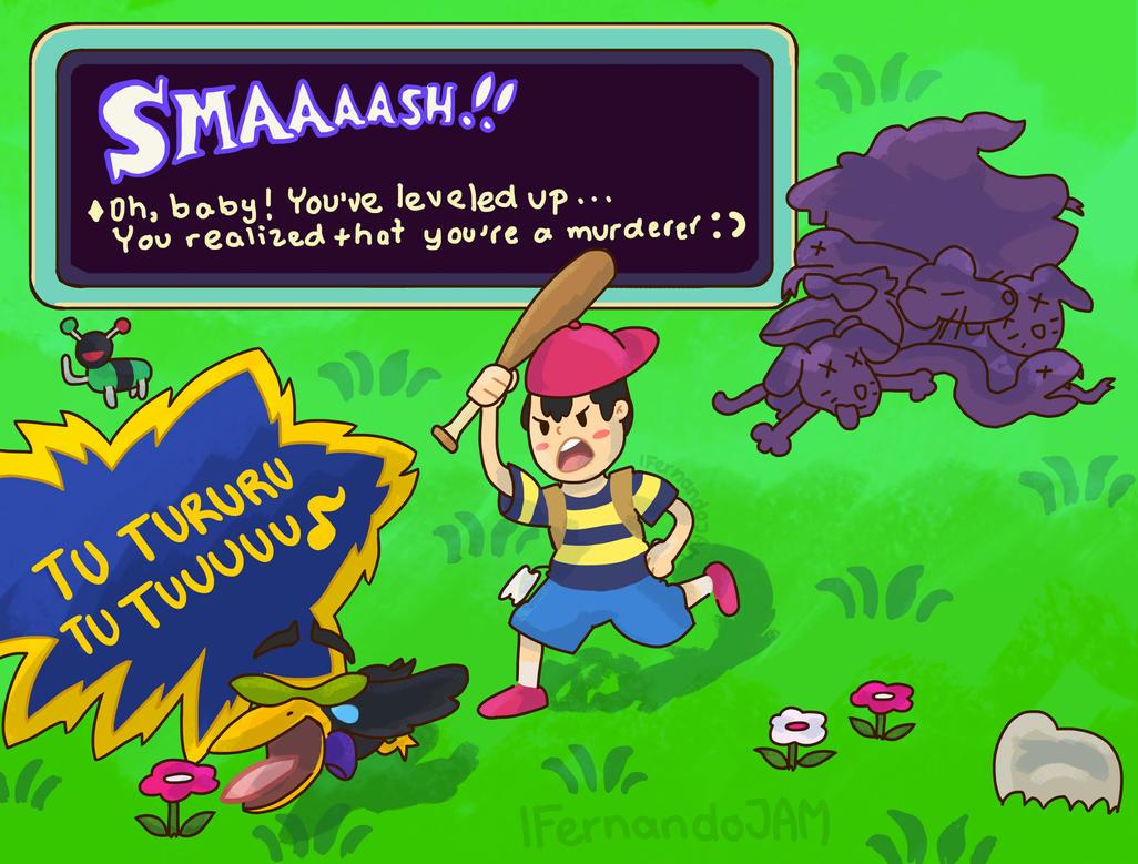 Homesick Game Earthbound By Fernandojam On Deviantart