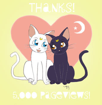 5,000 Pageviews by ArtsyMaria