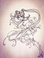 Sailor Moon by ArtsyMaria