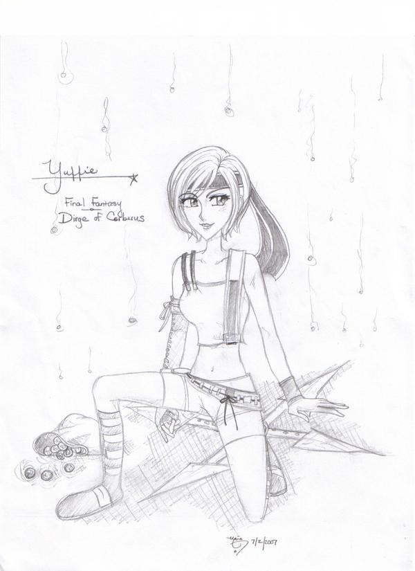 Yuffie Kiseragi-DoC by ArtsyMaria