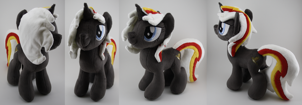 Velvet Remedy Plush by LyrasPlush