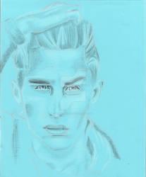 Portrait of Karolis by Moondancer3