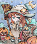 Little Witch / Entry for Coloring Contest
