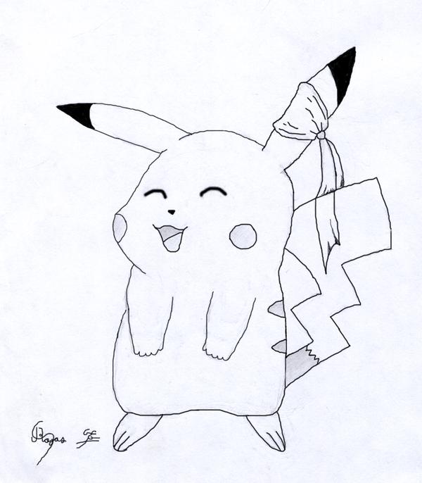 pikachu by Sc0t1n4t0r