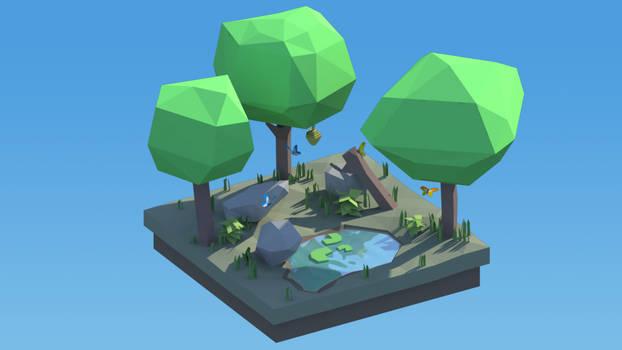 Forest Diorama
