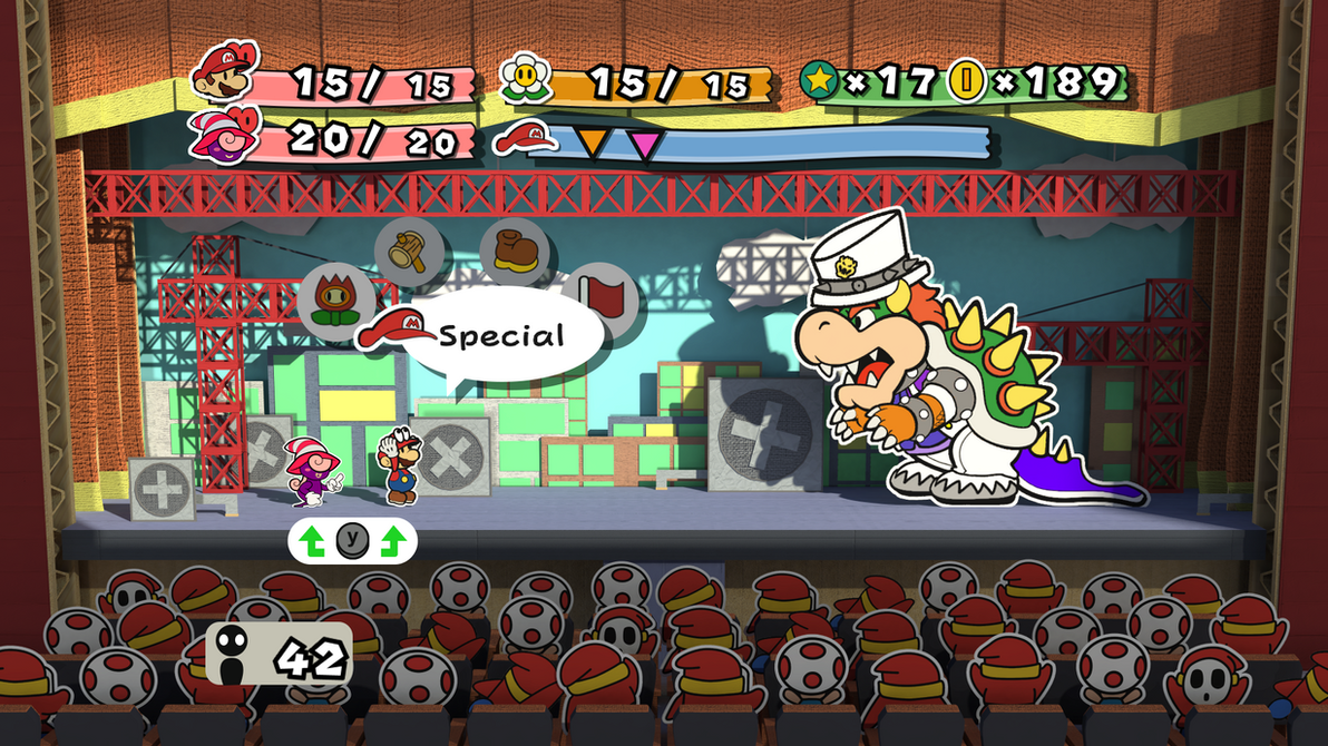 Paper Mario Odyssey by wesai