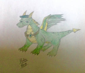 Jack the Septic Dragon by BulbaFriend