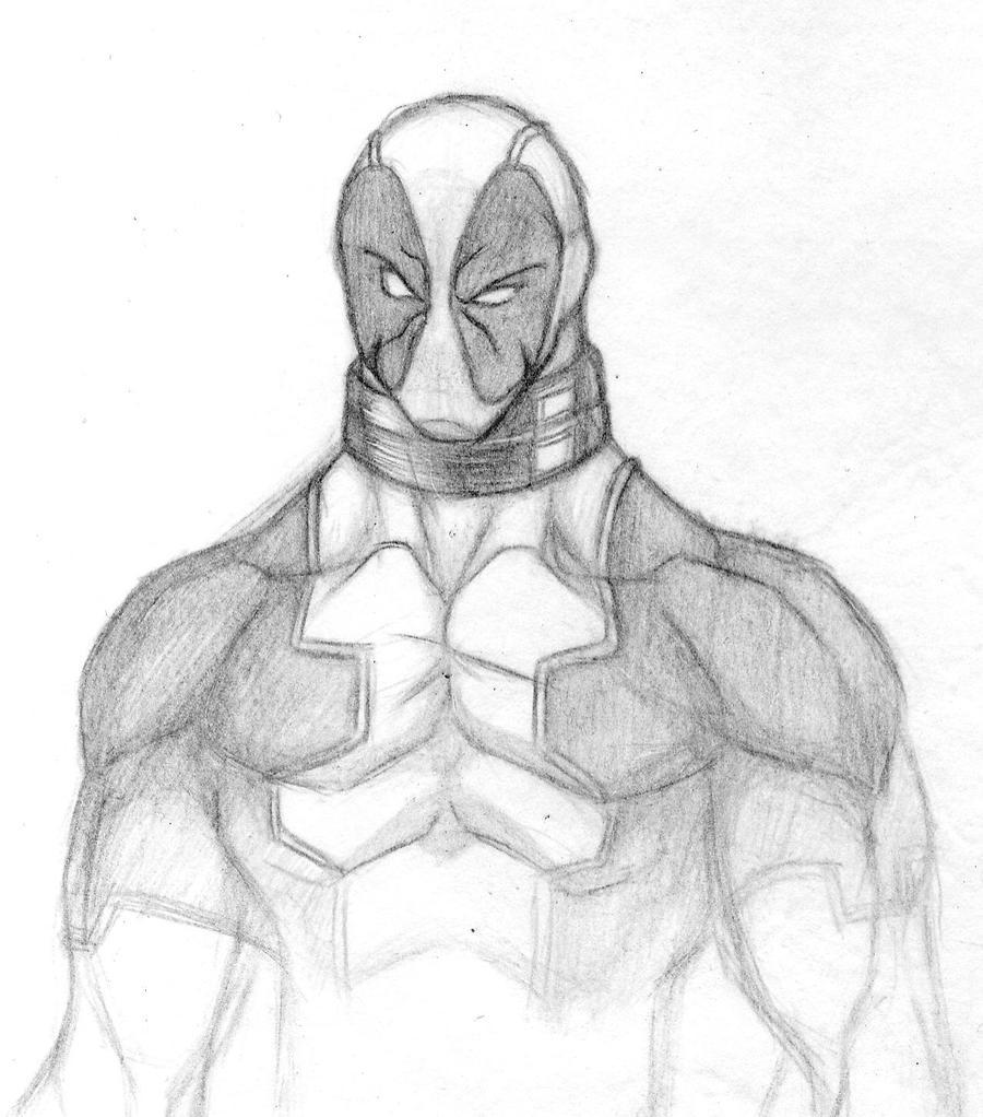 Fantástico Deadpool Para Colorear Para Niños Ornamento - Dibujos ...