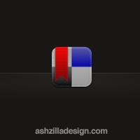 delicious.com iPhone App Icon by ashzilladesign