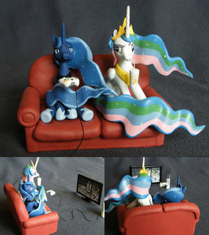 Luna and Celestia: Two Best Sisters play Portal 2