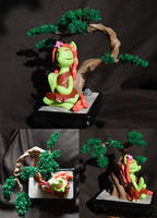 Tree Hugger's meditation garden by PrototypeSpaceMonkey