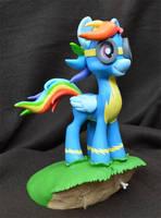 Rainbow Dash, Wonderbolt by PrototypeSpaceMonkey