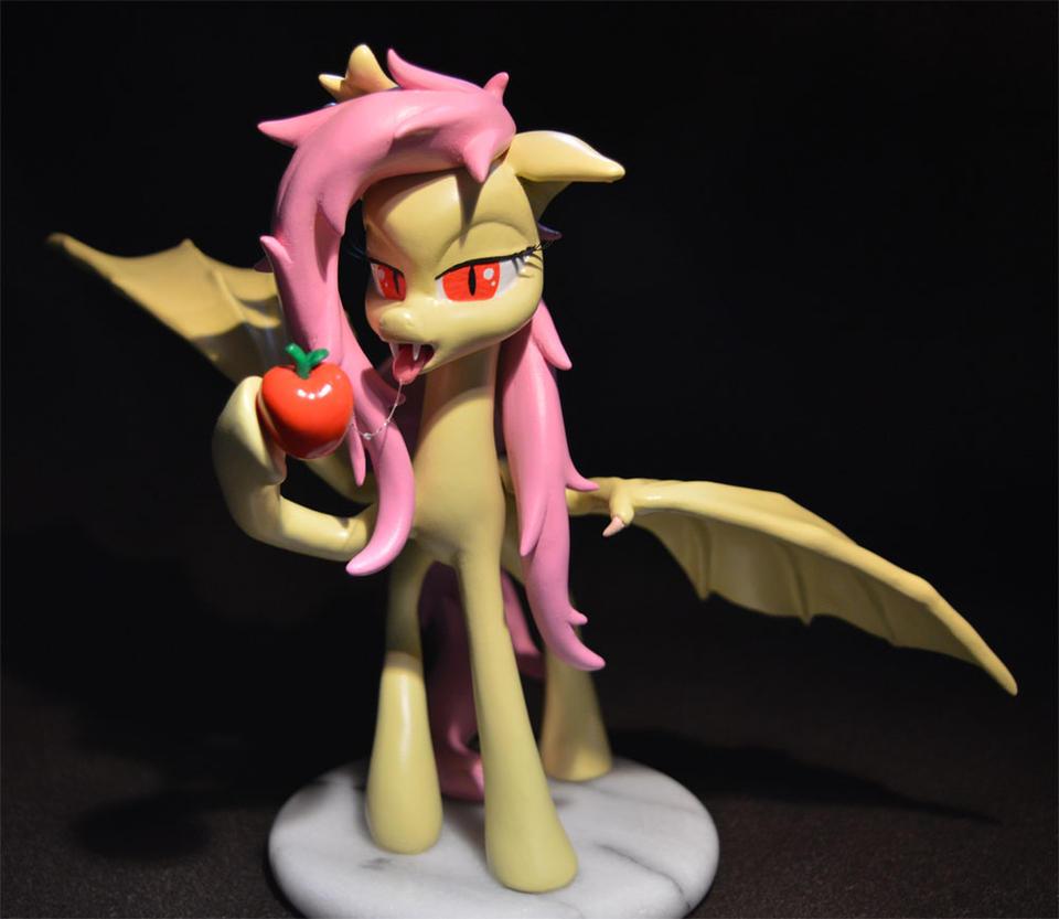 Flutterbat Vants to Suck Your Juice by PrototypeSpaceMonkey