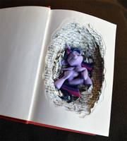 Nesting Habits of the Twilight Sparkle by PrototypeSpaceMonkey