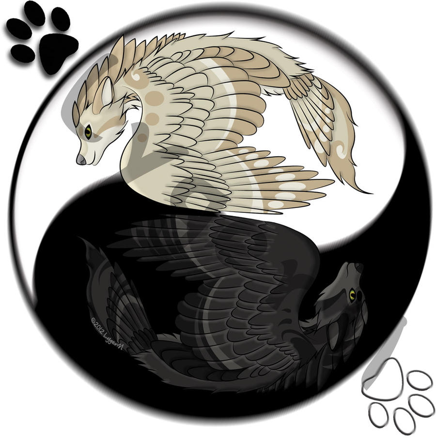 Yin Yang Nym shadow-wolf 2-9-12 by WhiteLygerMistress on DeviantArt