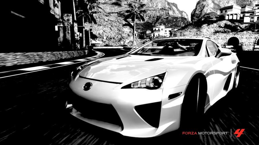 Lexus LFA Black Nu0027 White By KatzeFalke Sergal ...