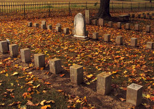 Civil war graveyard.