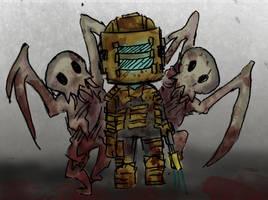 Chibi Dead Space ftw by DeadEndSeid
