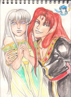Yurius Yuria and Celice by X-Tidus-kisses