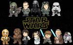 Star Wars Chibi Line-Up