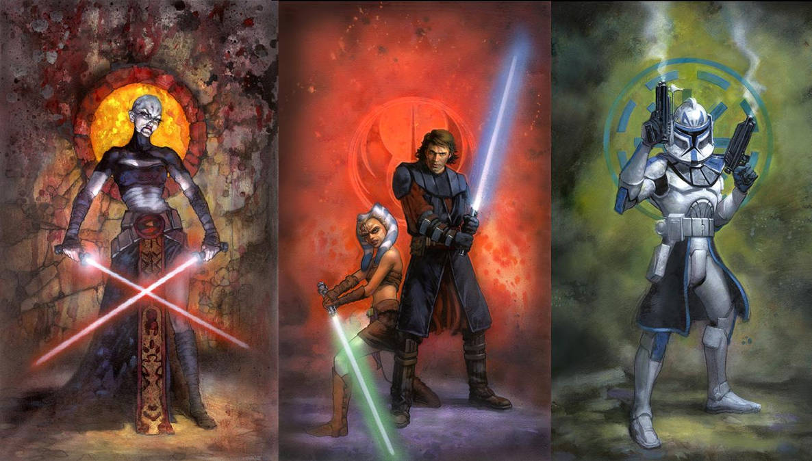 Star Wars Clone Wars Wallpaper By Masterbarkeep On Deviantart