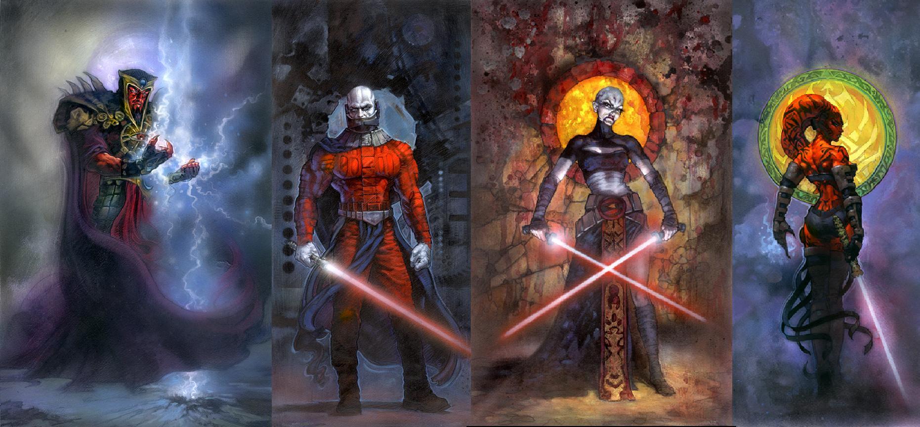 Star Wars Sith Lords Wallpaper By Masterbarkeep On Deviantart