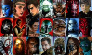 Star Wars Cards Wallpaper