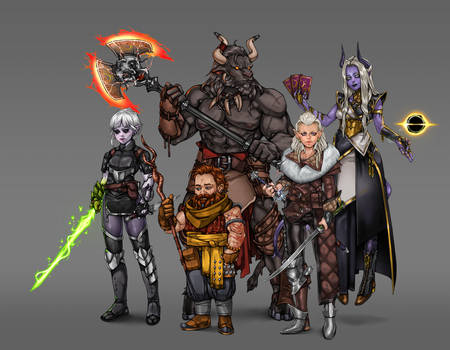 DnD Updated Party Roster
