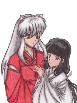 Inuyahsa and Kikyo