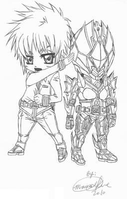 My Kamen Rider Diamond Chibi