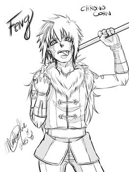 Feng (My OC) Only I'm number one