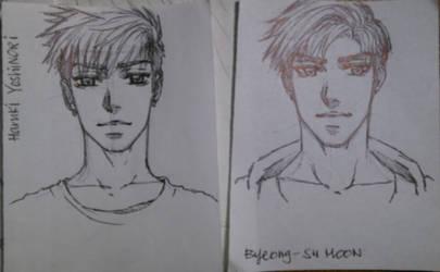 Haruki and Byeong-Su