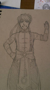 The Name's Longwei (Unfinished)