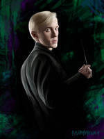 Draco Malfoy by radimirovna