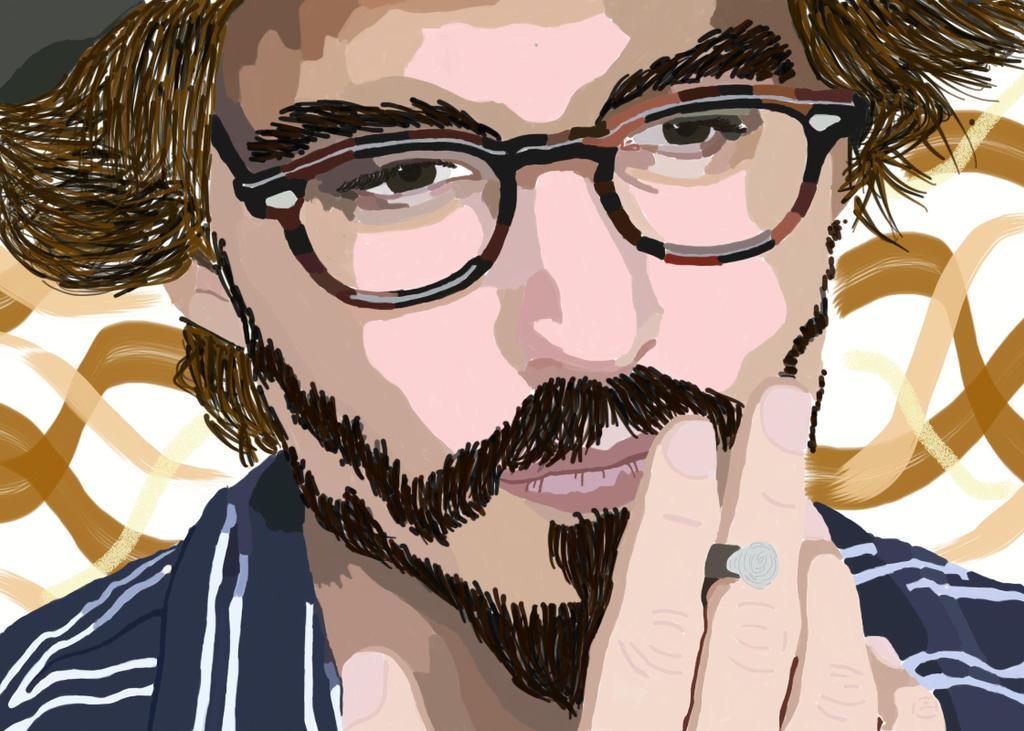 Johnny Depp by NanaOsaki88