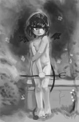 Bouguereau little love devil by lFall