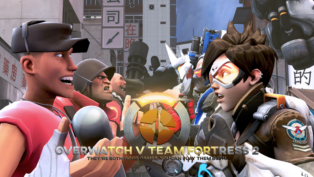 overwatch v team fortress 2 dawn of who cares by xxspacewingxx on