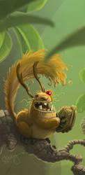brawler squirrel by Oozn