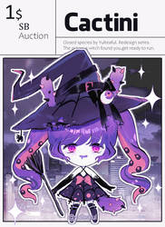 [CLOSED] $1 Auction - Cactini - Witch