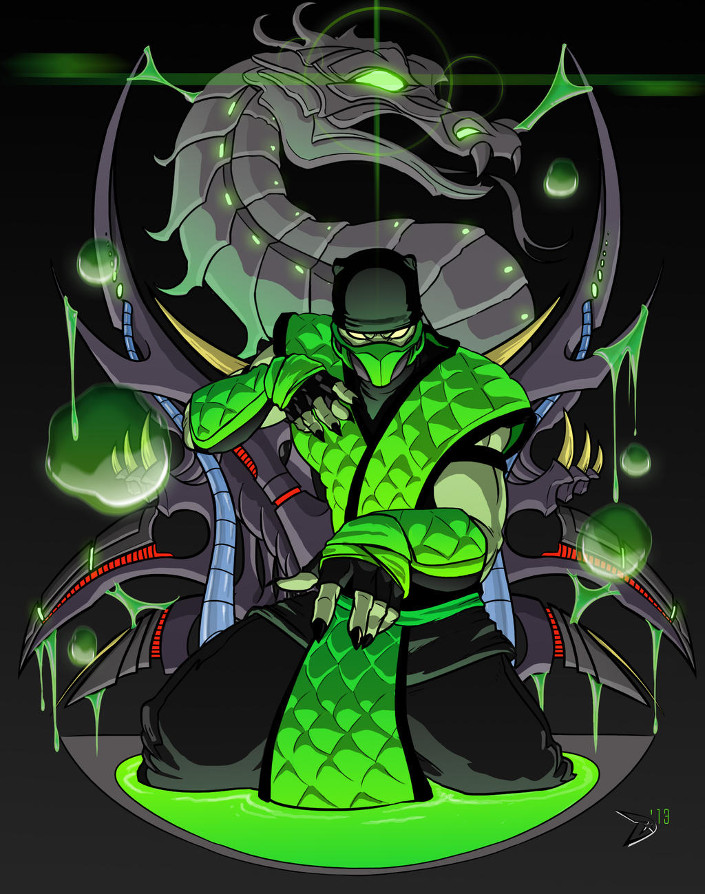 Mortal kombat rebirth reptile