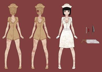 Silent Hill Nurses by RyuRyugami