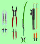 Team RPTR Weapons