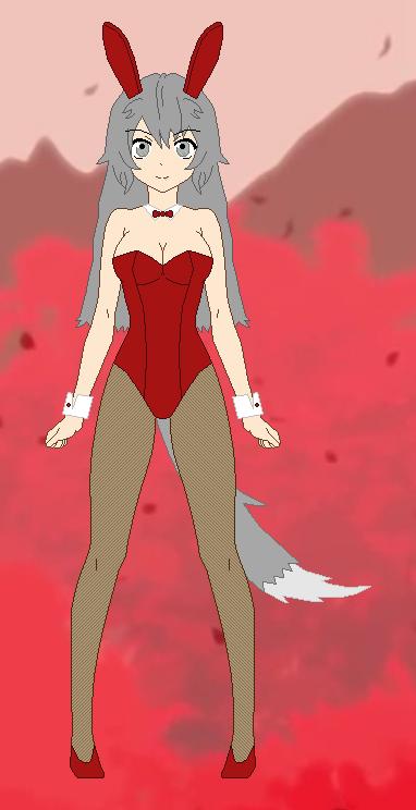 Auburn Perrault (Bunny Girl) by RyuRyugami