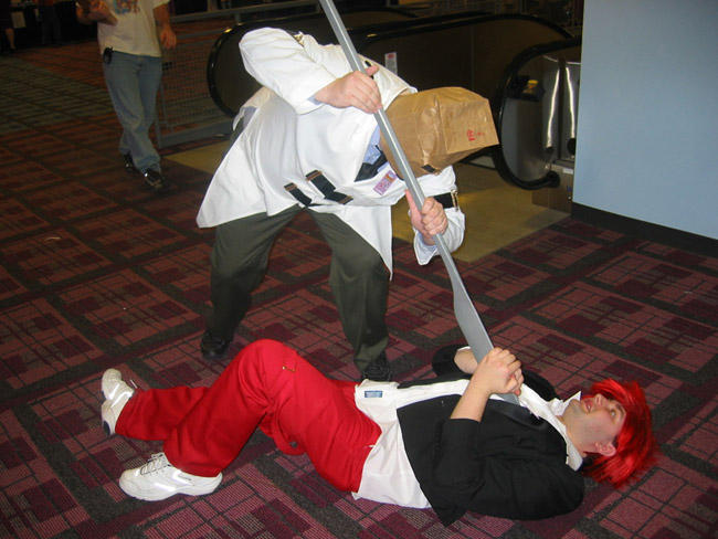 Ohayocon Battles Faust Triumph by BlackRavenSluagh
