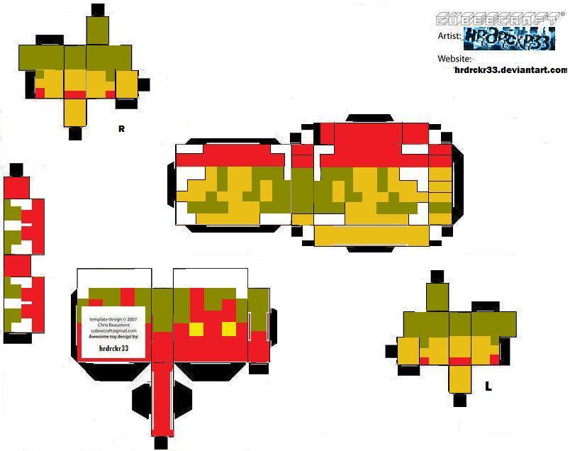 8 Bit Cartoon Characters : Cubee bit mario by hrdrckr on deviantart