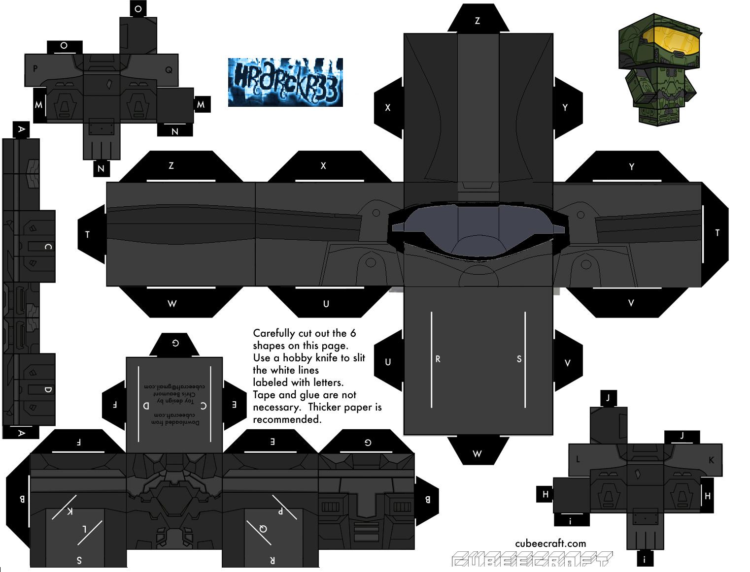 Cubee halo odst by hrdrckr33 on deviantart