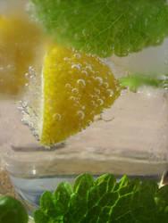 Lemon-Balm Mocktail II by insomniacs-nightmare
