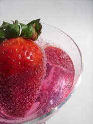 Strawberry Mocktail II by insomniacs-nightmare